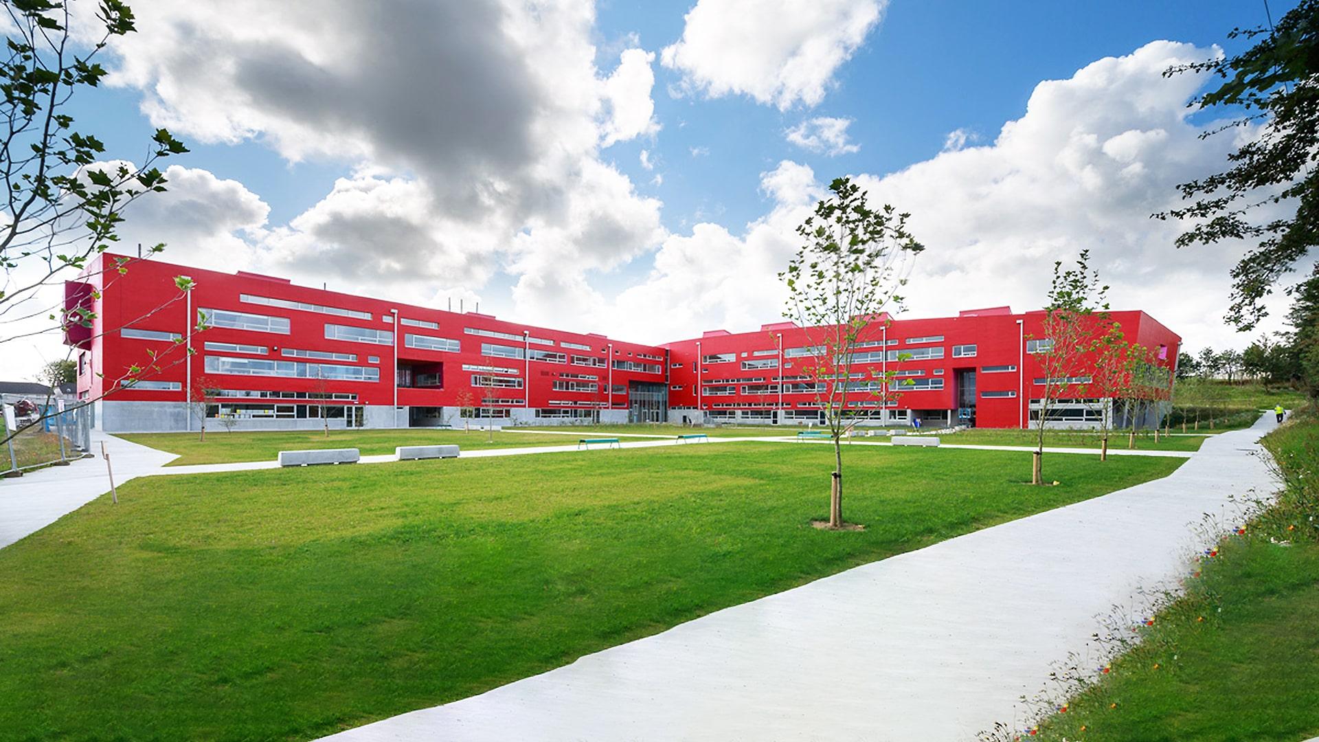 Colegio año escolar en Irlanda Athlone Community College