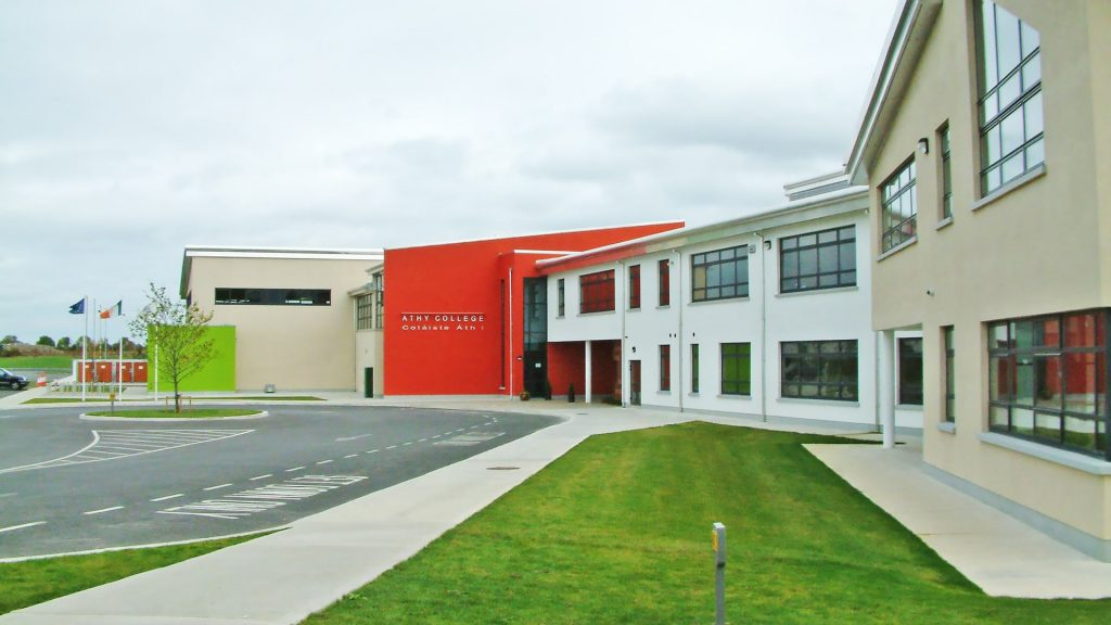 Año escolar en Irlanda en el colegio público Athy Community College