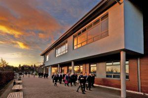 Colegio año escolar Kilcoole Community School Irlanda