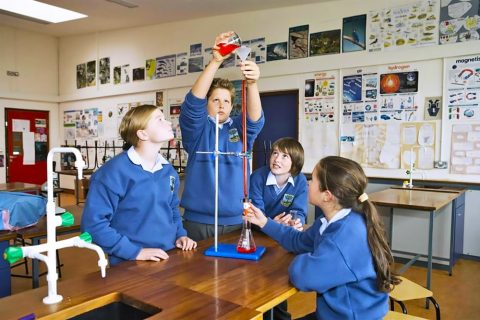 Colegio público Kilcoole Community School Irlanda