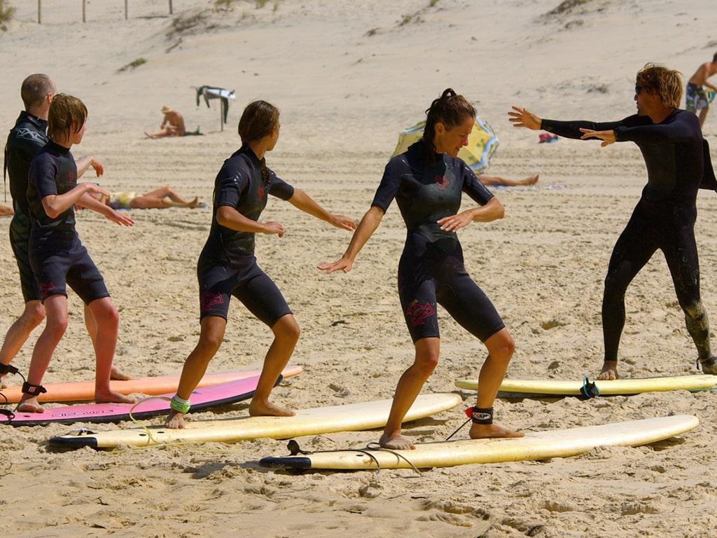 Campamento de verano de francés y surf en Arcachon, Francia 1