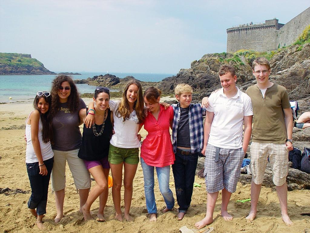 Campamento de verano de francés y surf en Arcachon, Francia 8