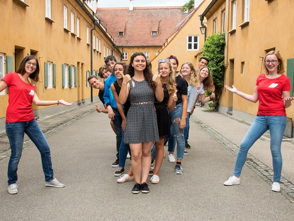 Curso de verano de alemán en Augsburg 1