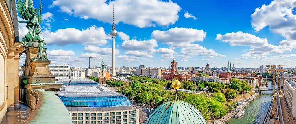 Campamento de verano de alemán en Berlín, Alemania