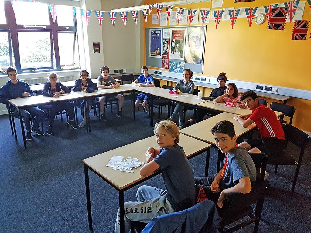 Campamento de verano de inglés en Boston College 14