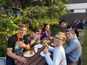 Campamento de verano de inglés en Boston College 8