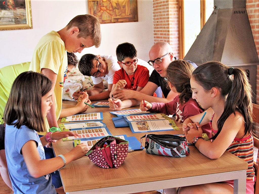 Campamento de inglés en la sierra de Gredos 2