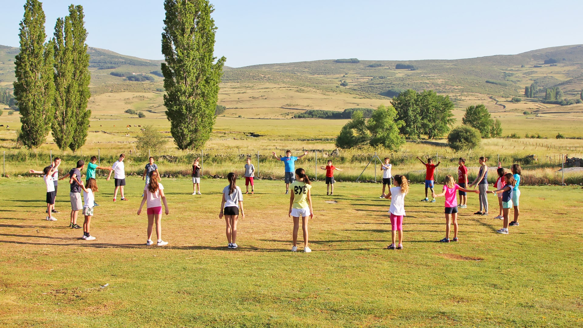Campamento de verano de inglés en la Sierra de Gredos, Ávila