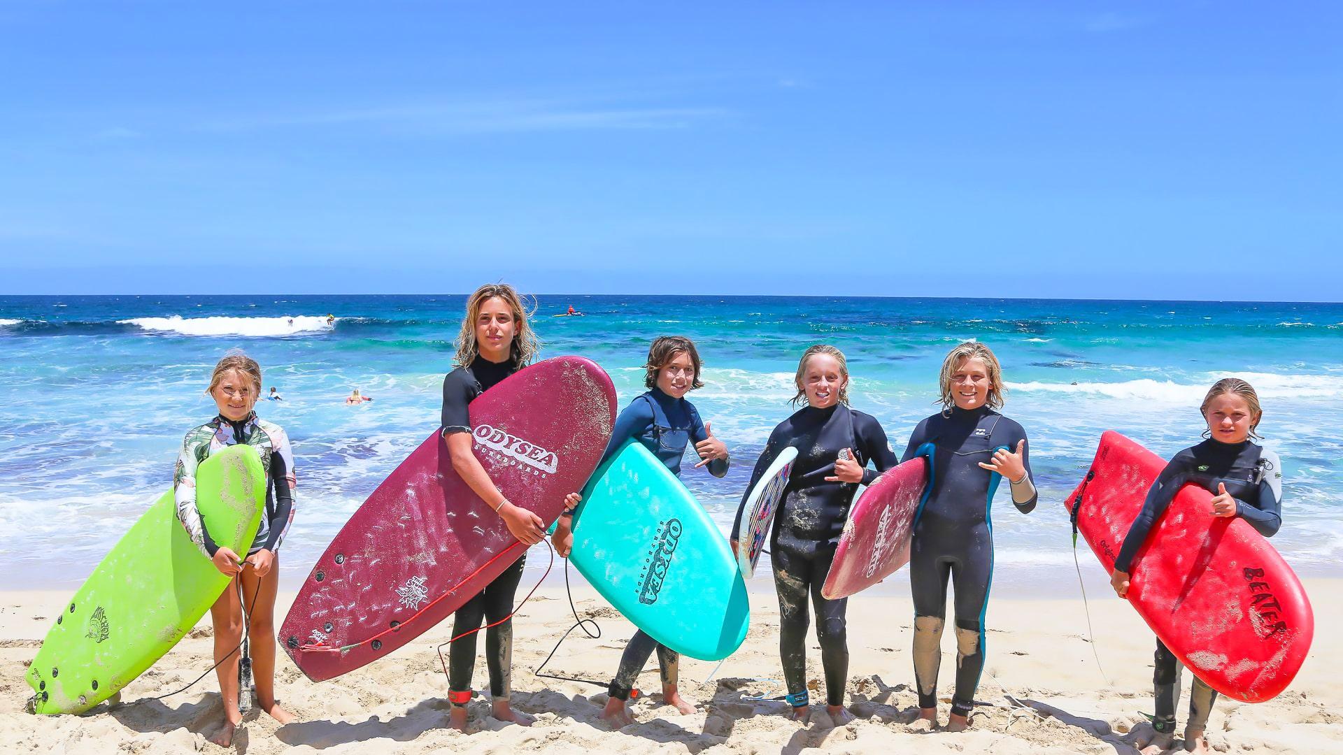 Campamento de verano de inglés y deportes acuáticos en Jerez de la Frontera