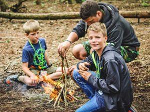 Campamento de verano con niños alemanes 18