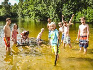 Campamento de verano con niños alemanes 4