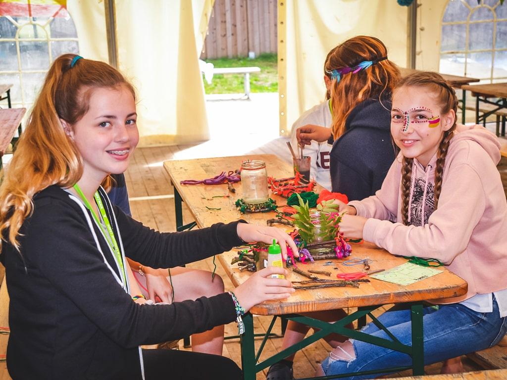 Campamento de verano con niños alemanes 9