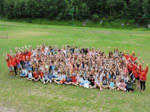 Campamento de verano en los Pirineos 1