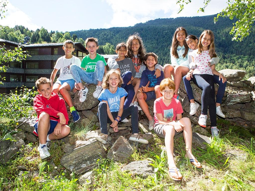Campamento de verano en los Pirineos 2