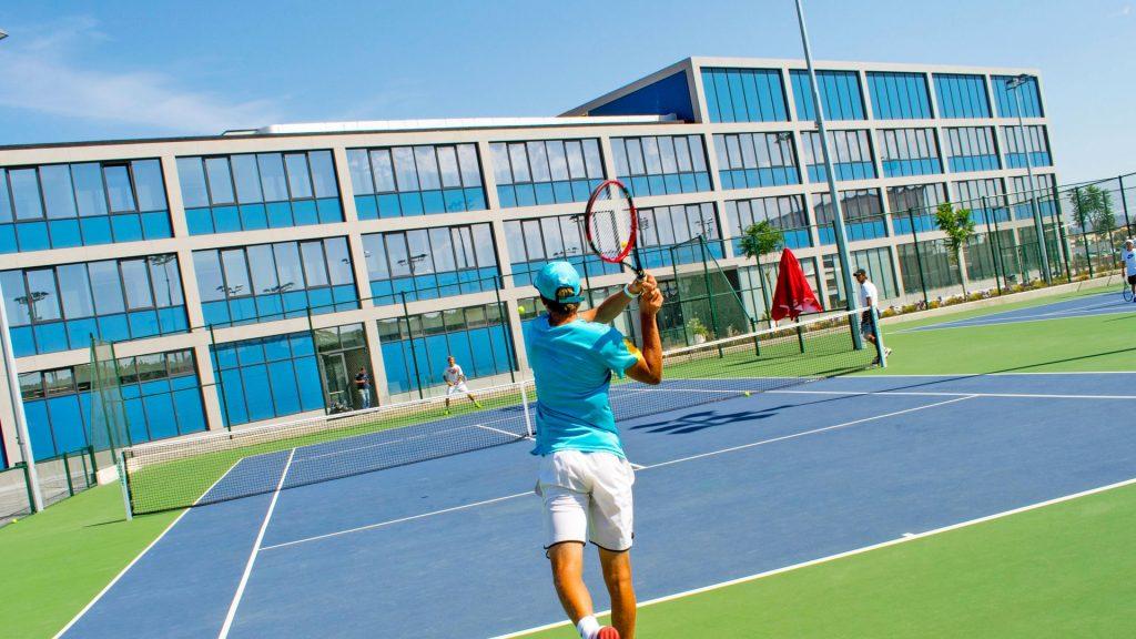 Campamento de inglés y tenis Rafa Nadal Academy