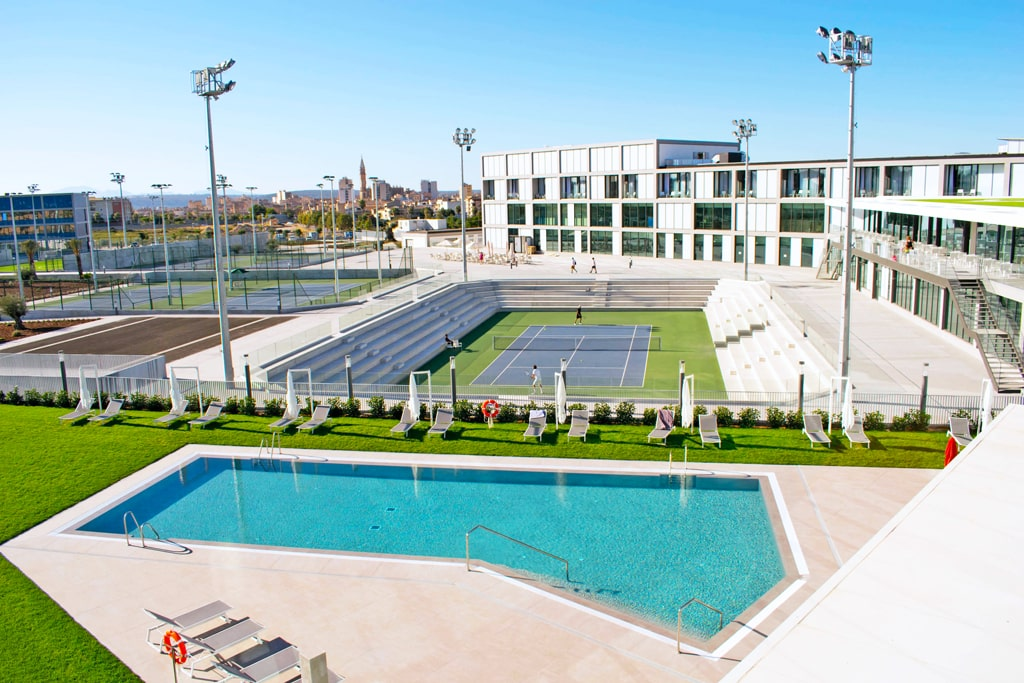 Campamento de tenis e inglés Rafa Nadal 2
