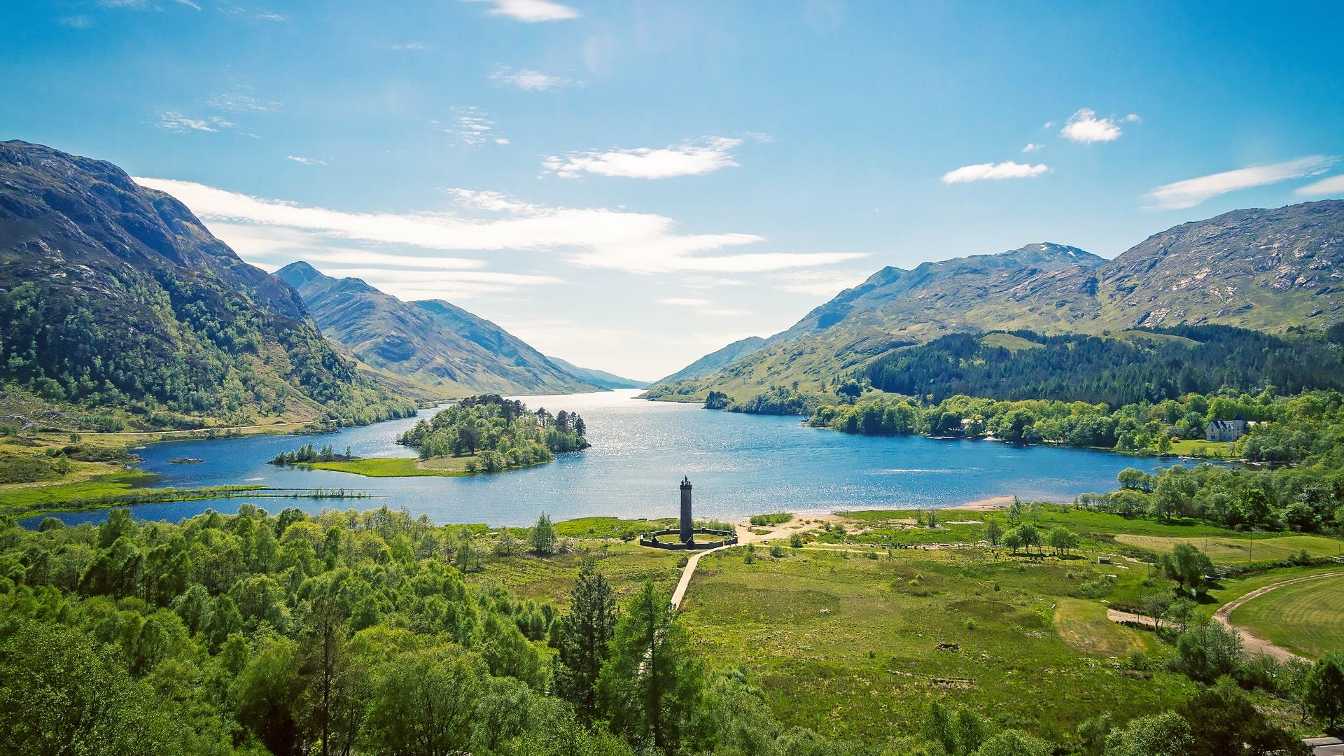 Campamentos de verano Escocia