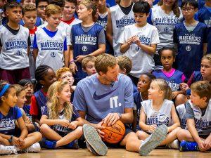 Campamento de inglés y baloncesto Dallas Mavericks 1