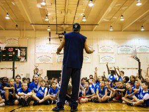 Campamento de inglés y baloncesto Dallas Mavericks 2