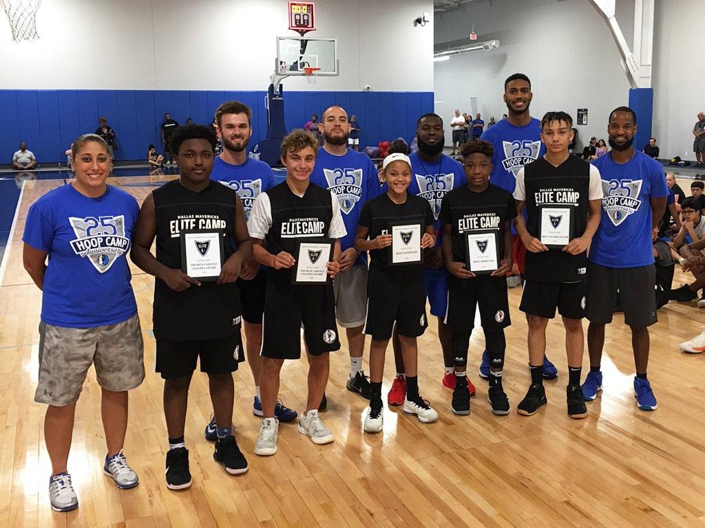 Campamento de inglés y baloncesto Dallas Mavericks 8