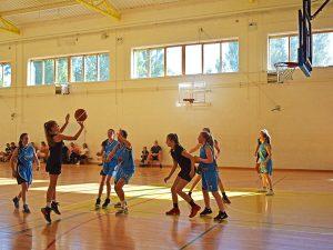 Curso de verano de inglés y baloncesto en Dublín 10