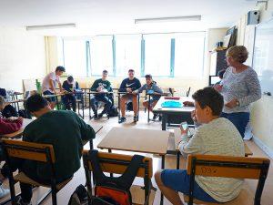 Curso de verano de inglés y baloncesto en Dublín 17