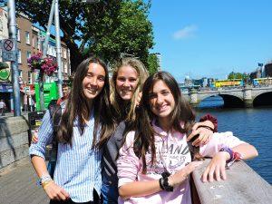 Curso de verano de inglés y baloncesto en Dublín 3