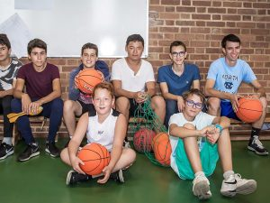 Campamento de inglés y baloncesto en Nueva York 1