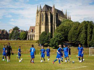 Campamento de verano de inglés y fútbol del Brighton FC 1