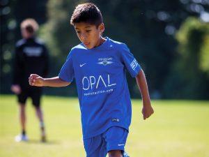 Campamento de verano de inglés y fútbol del Brighton FC 18