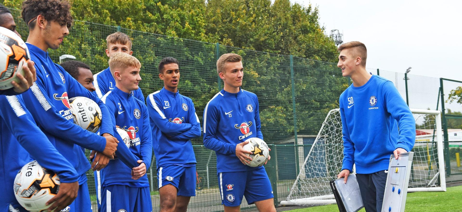 Campamento de verano de inglés y fútbol Chelsea FC