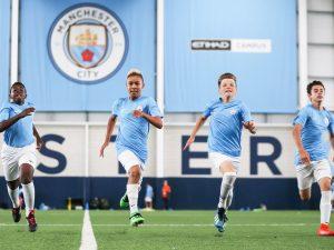 Campamento de verano de inglés y fútbol del Manchester City FC 1