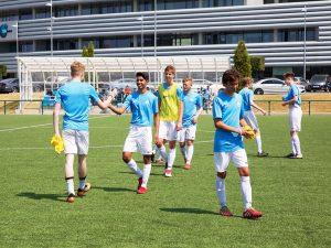 Campamento de verano de inglés y fútbol del Manchester City FC 3