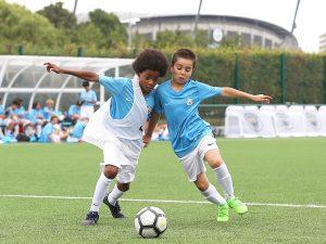 Campamento de verano de inglés y fútbol del Manchester City FC 8