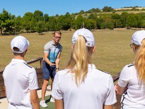 Campamento de verano de inglés y golf en Inglaterra de Nike 12