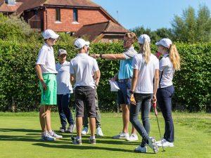 Campamento de verano de inglés y golf en Inglaterra de Nike 6