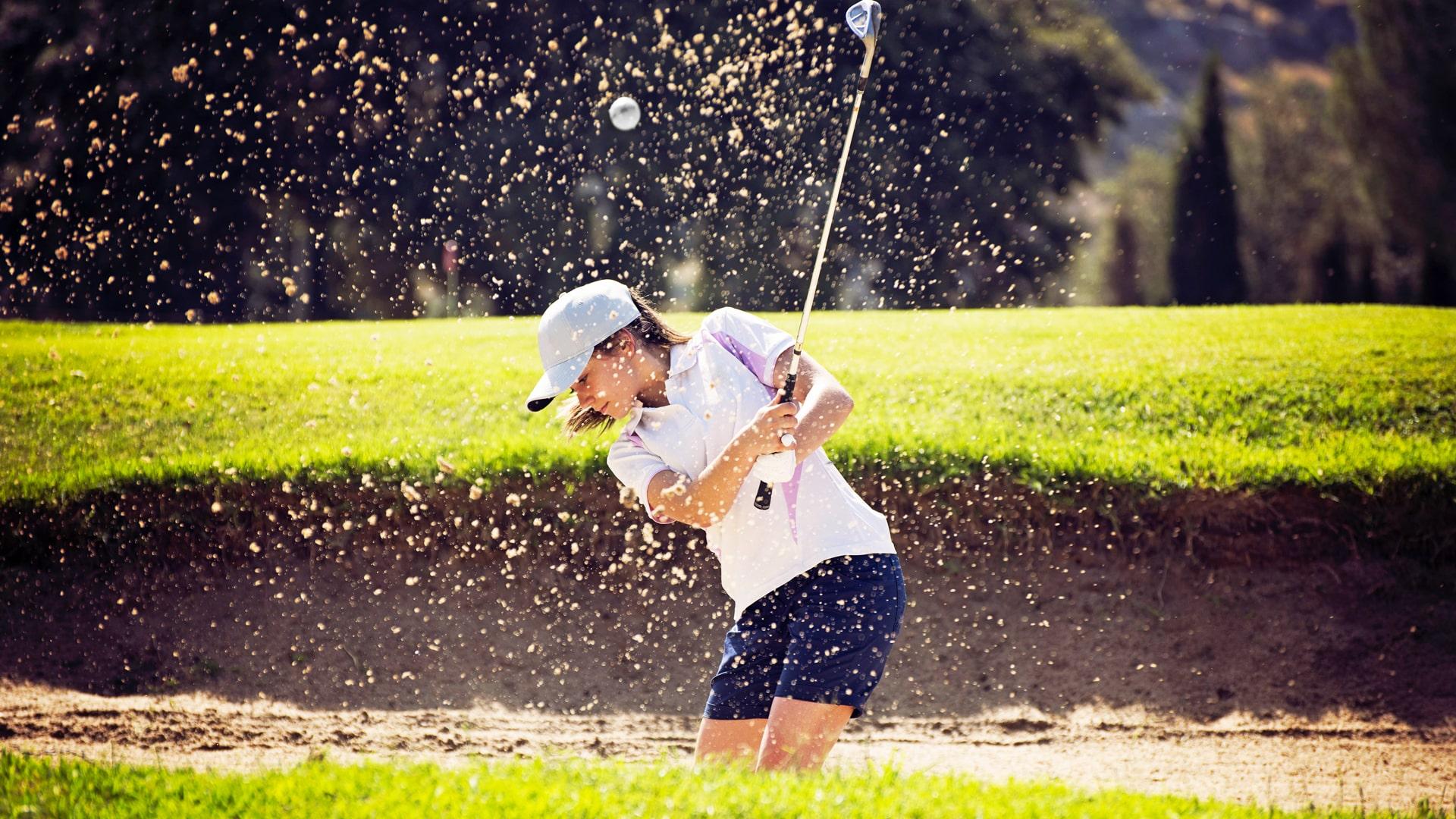 Campamento de verano de inglés y golf en Inglaterra de Nike