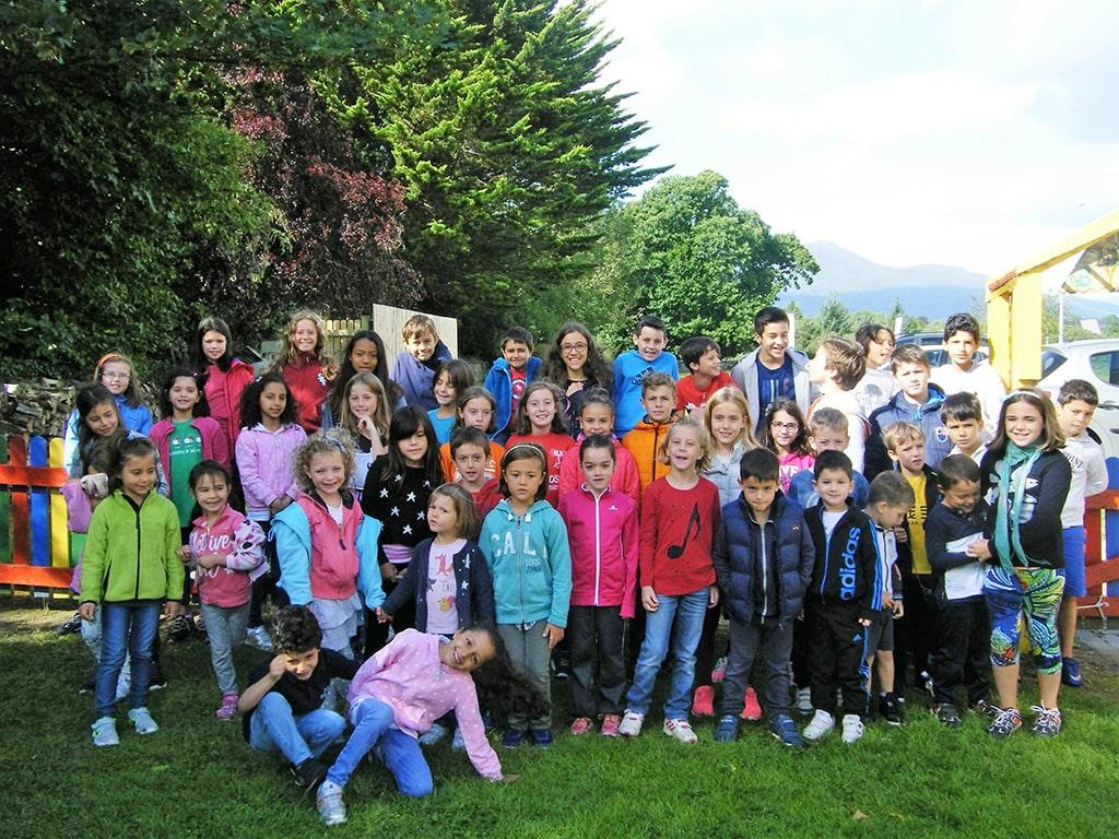 Curso de inglés en Irlanda para padres e hijos durante las vacaciones familiares 2