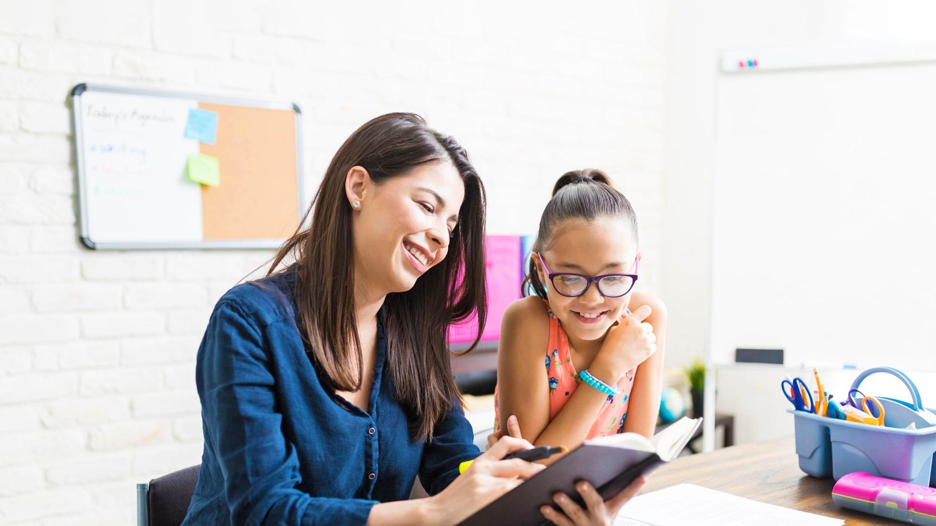 Curso para niños y jóvenes de inmersión en casa del profesor en Estados Unidos