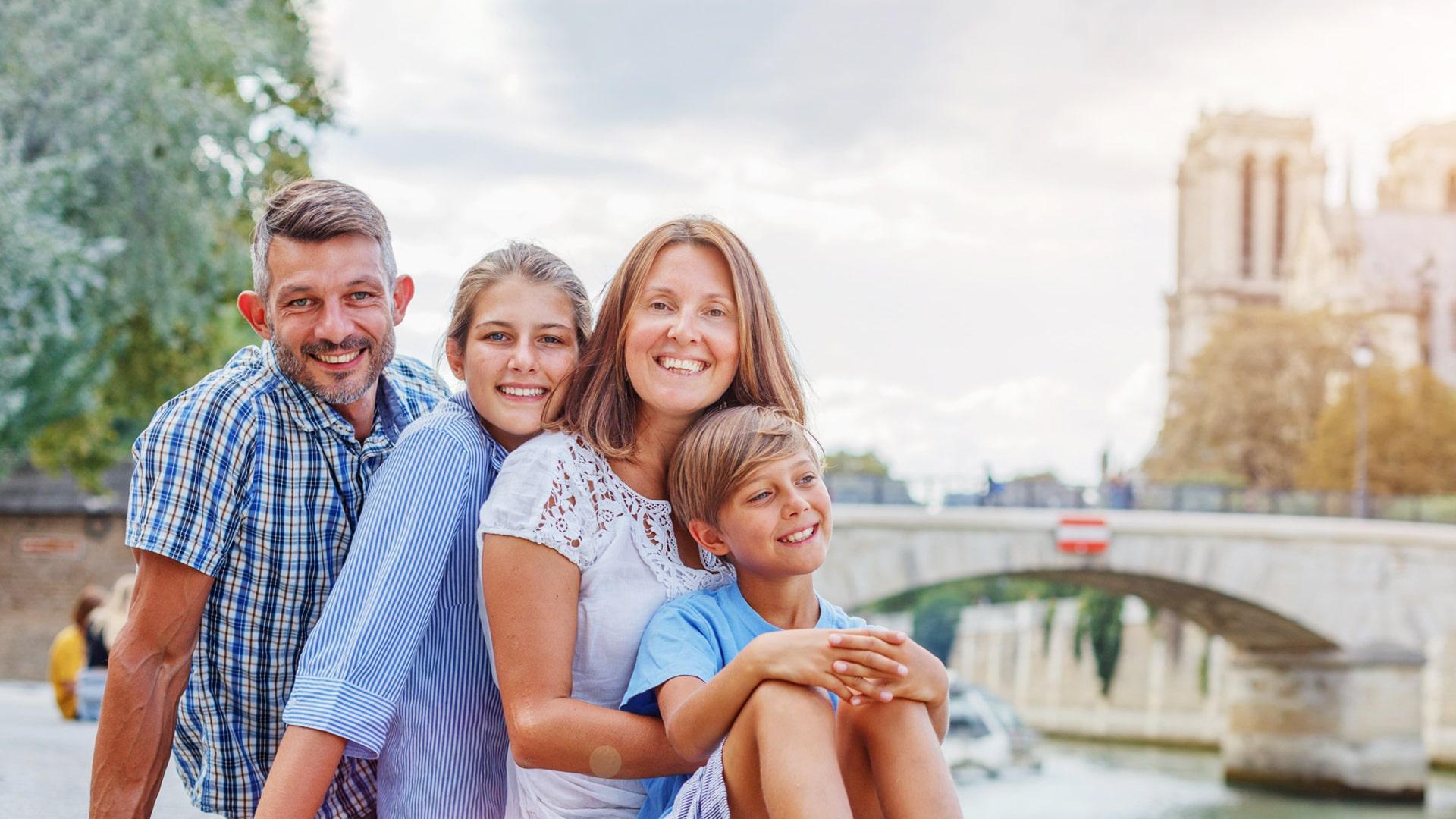 Campamento de verano en Francia de inmersión en familia francesa