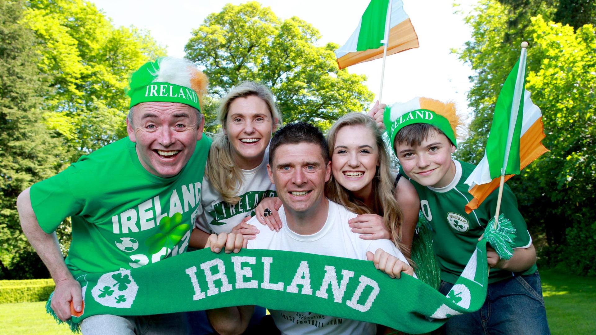 Curso de verano de inmersión en familia irlandesa
