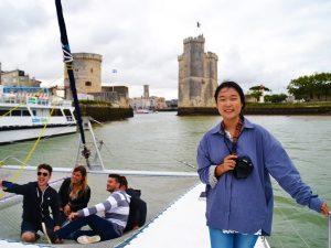 Campamento de verano de francés y catamarán o windsurf en La Rochelle, Francia 18