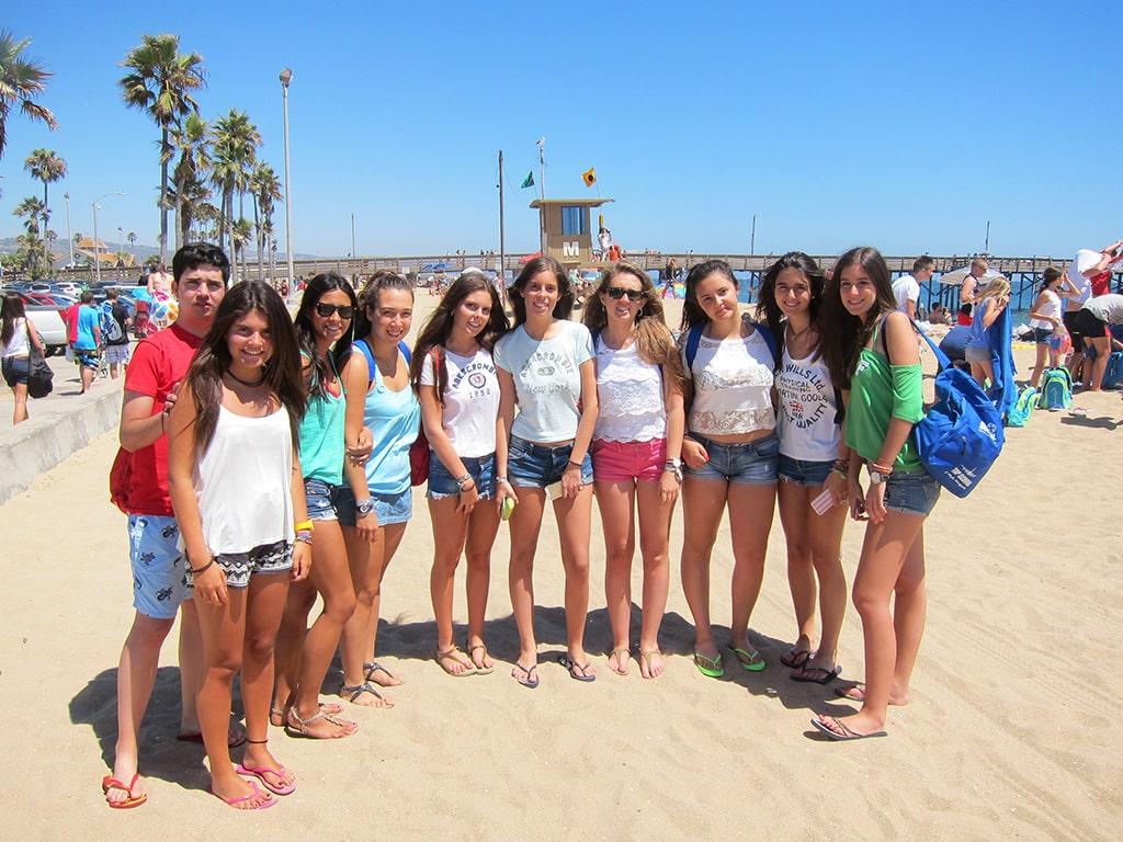 Curso de verano en Los Ángeles de inglés 1