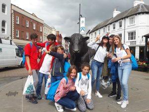Curso de verano de inglés en Lucton en internado 13