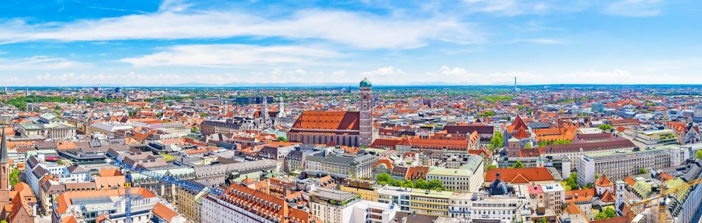 Campamento de verano de alemán en Múnich, Alemania