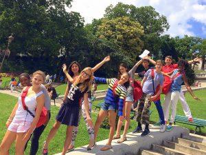 Campamento de verano de francés en París 1