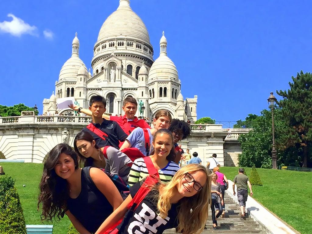 Campamento de verano de francés en París 11