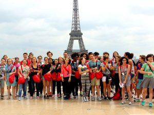 Campamento de verano de francés en París 15