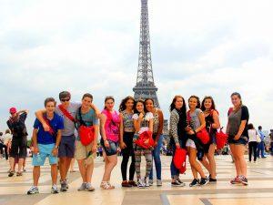 Campamento de verano de francés en París 2