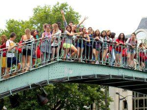 Campamento de verano de francés en París 9